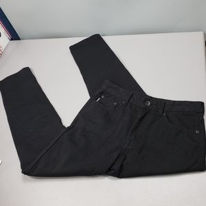 Mens zoo york black jeans size 30X32